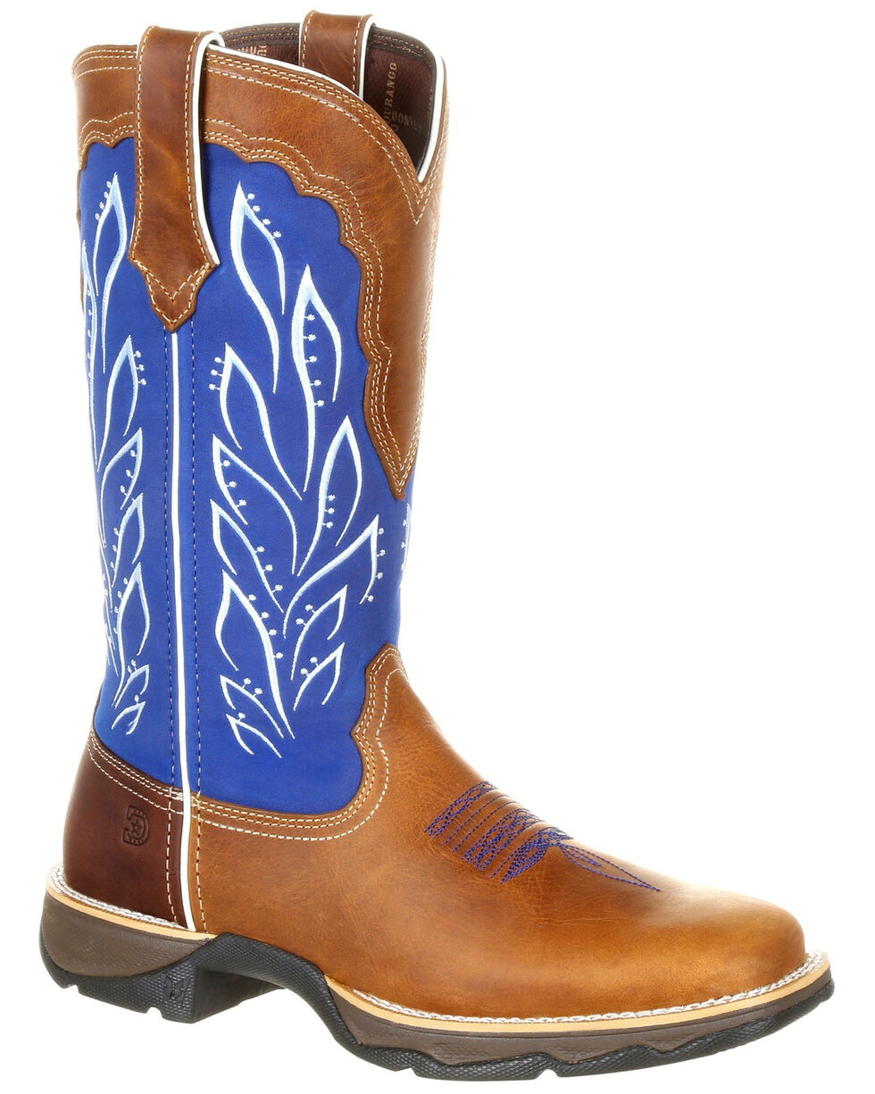 Durango Women's Lady Rebel Western Boots - Square Toe, Multi, hi-res