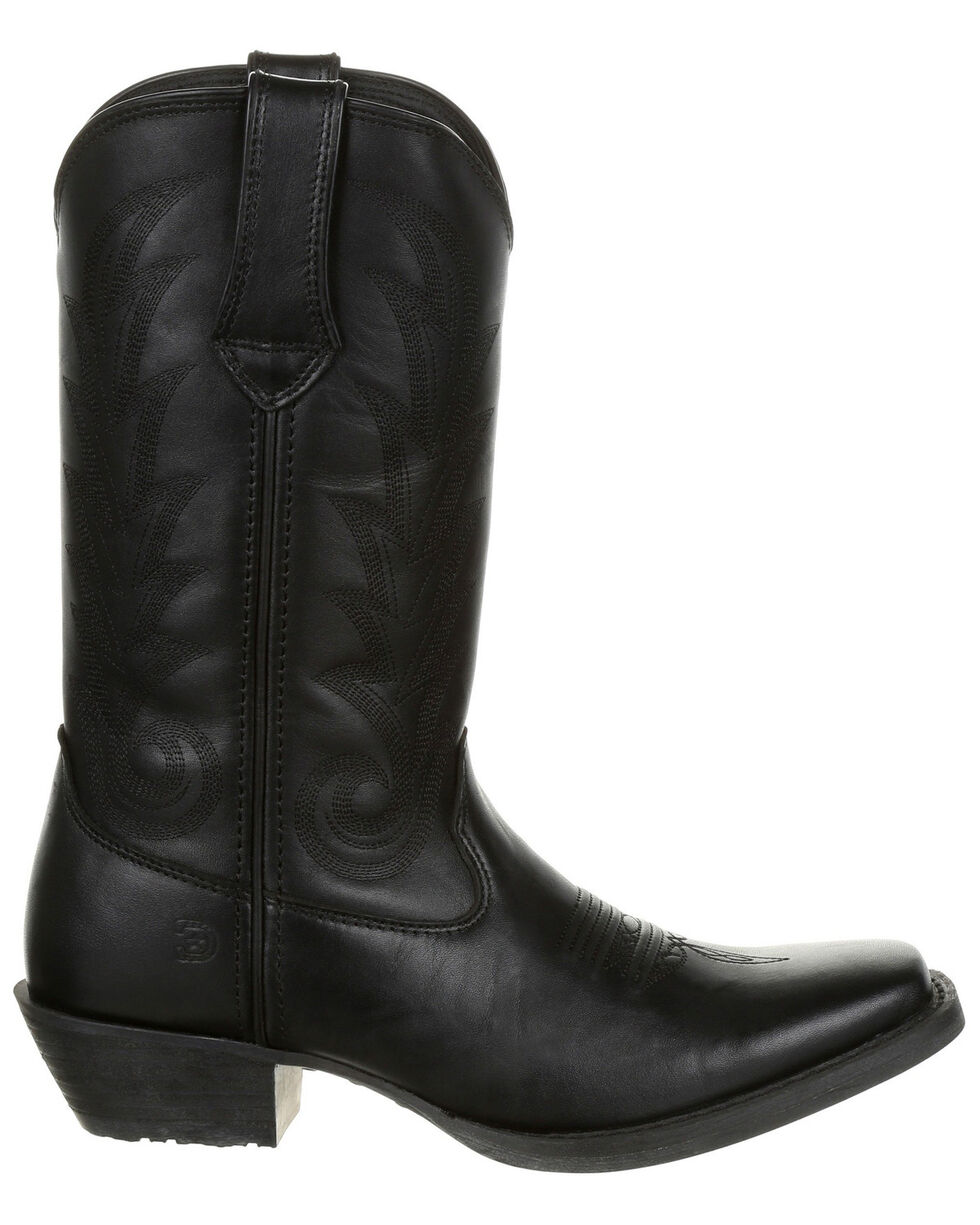 Durango Women's Western Boots - Square Toe, Black, hi-res