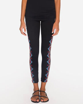 Johnny Was Women's Sonoma Leggings , Black, hi-res