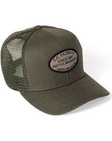 Filson Men s Otter Green Buckshot Twill Mesh Hat b23987bb45ab
