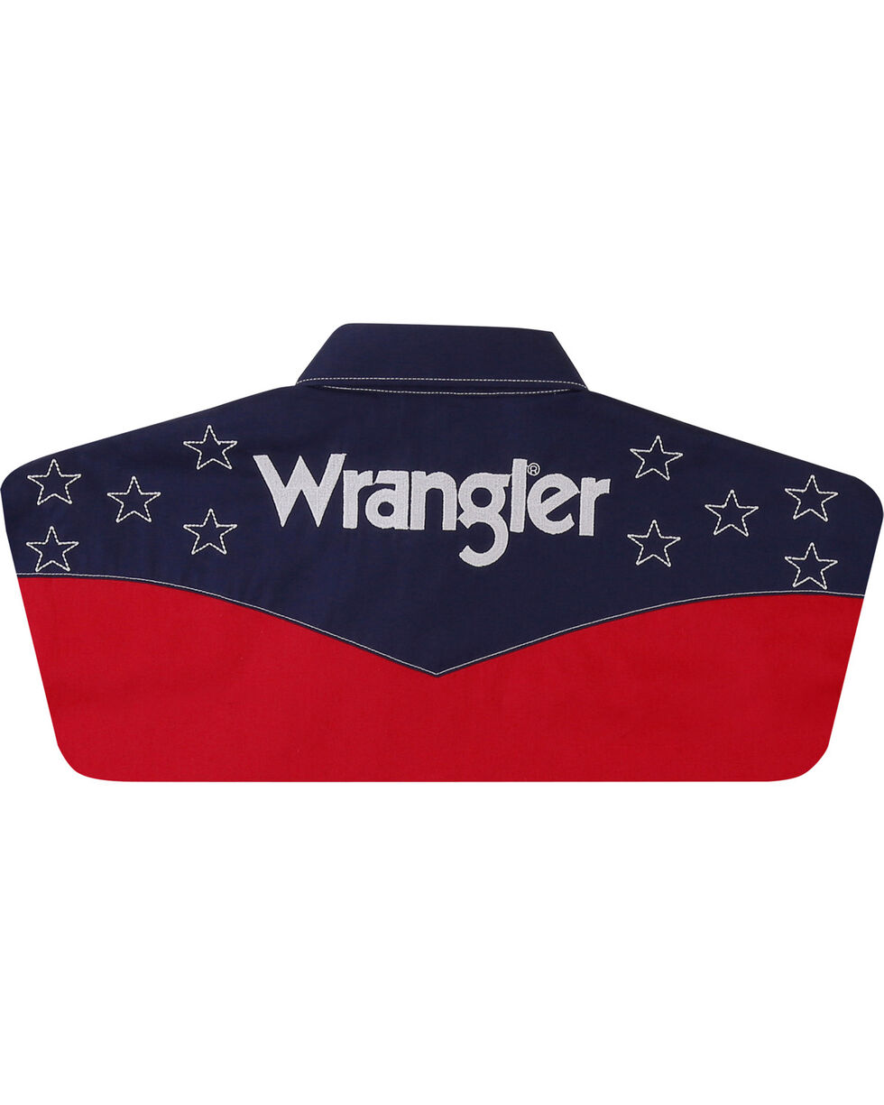 Wrangler Men's Red Star Logo Shirt - Tall, Red, hi-res