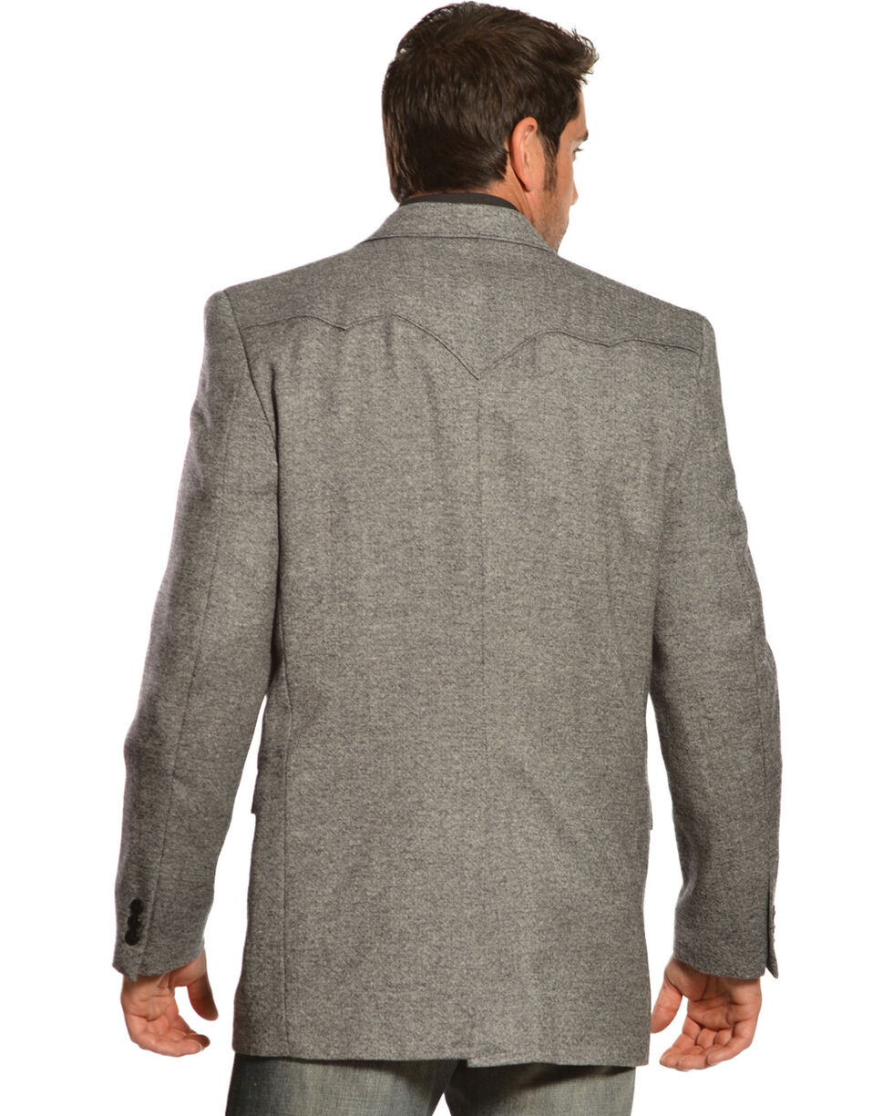 Circle S Men's Lambswool Plano Sport Coat, Black, hi-res