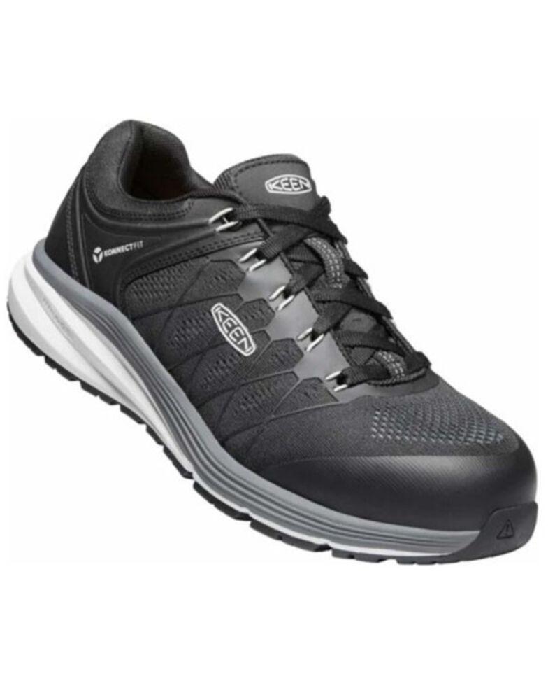 Keen Men's Vista Energy Work Shoes - Carbon Toe, Black, hi-res