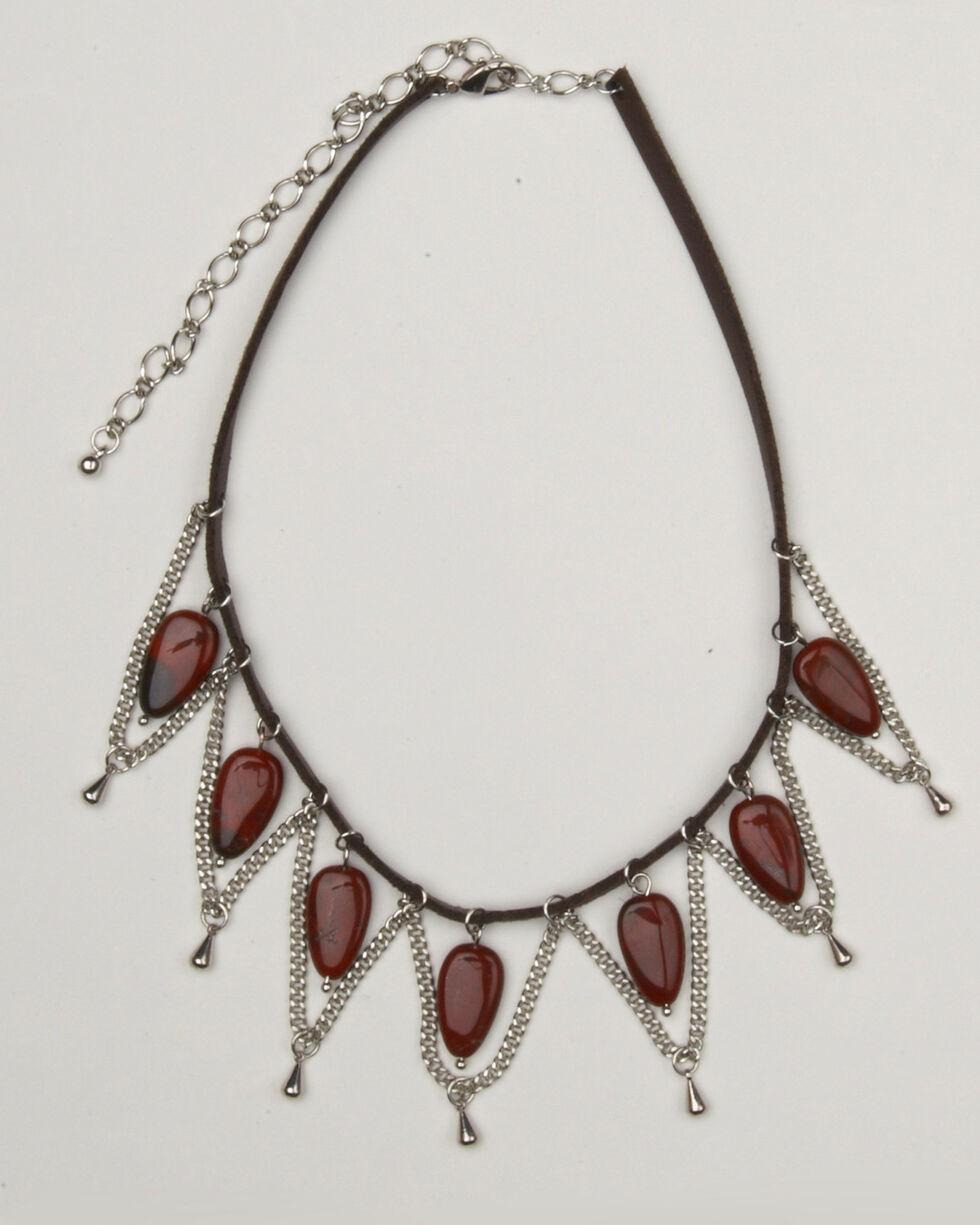 Cowgirl Confetti Women's Winding Road Choker, Silver, hi-res