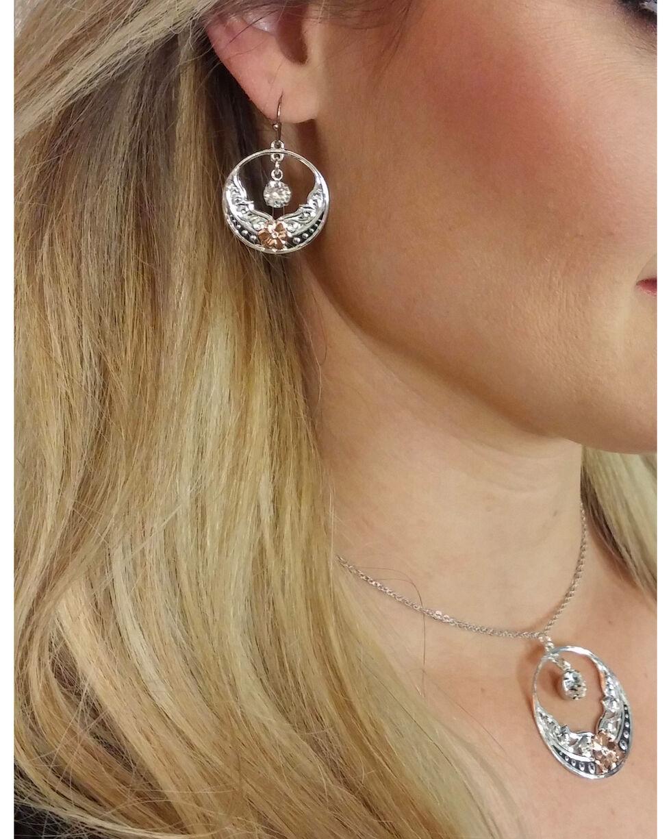 Montana Silversmiths Women's Evening Star's Wild Rose Jewelry Set, No Color, hi-res