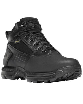 "Danner Women's Striker Bolt 4.5"" Lace Up Boots - Round Toe, Black, hi-res"