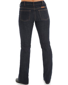 Cowgirl Tuff Women's Dark Wash Boot Cut Jeans , Blue, hi-res