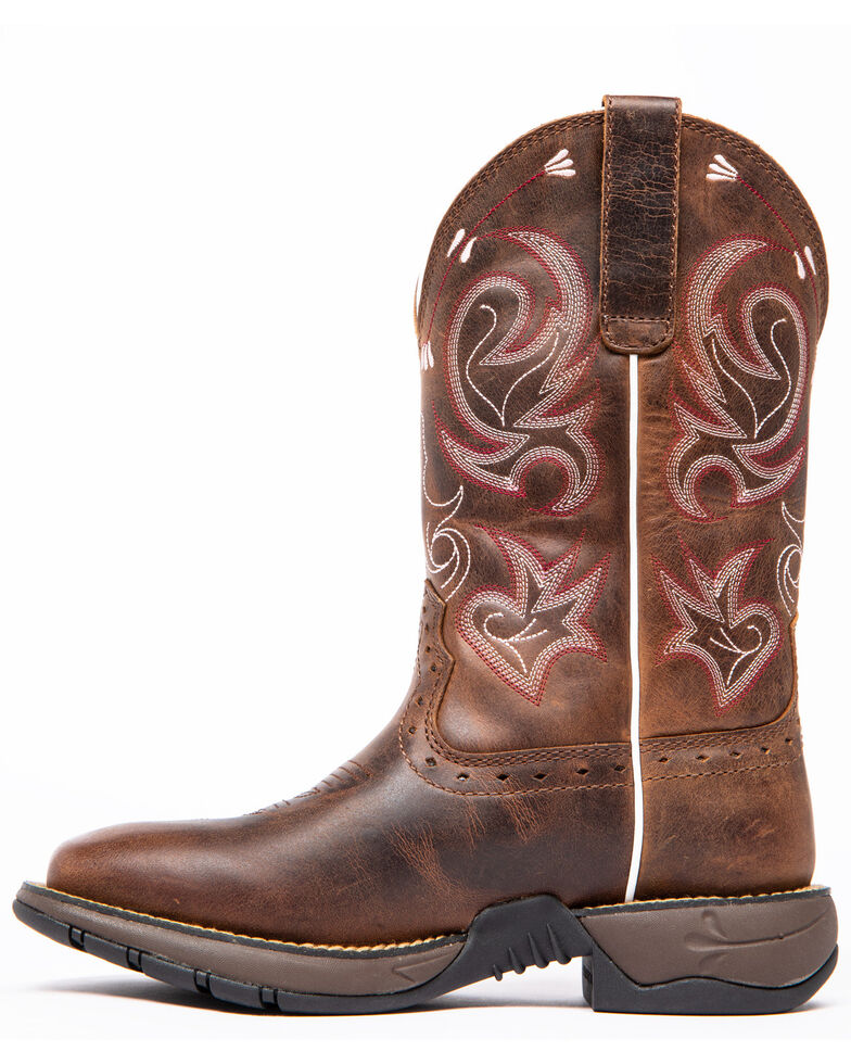 Shyanne Women's Xero Gravity Lite Western Boots - Wide Square Toe, Brown, hi-res