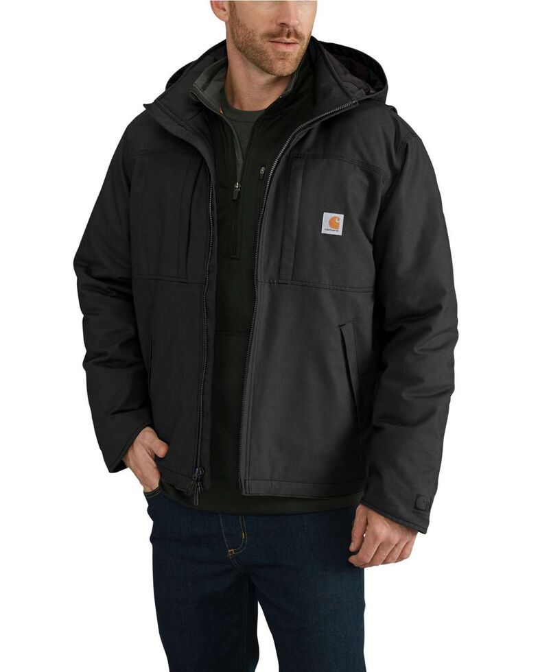 Carhartt Men's Full Swing Cryder Work Jacket , Black, hi-res