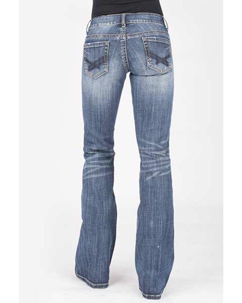 Stetson Women's 816 Classic Bootcut Jeans, Blue, hi-res