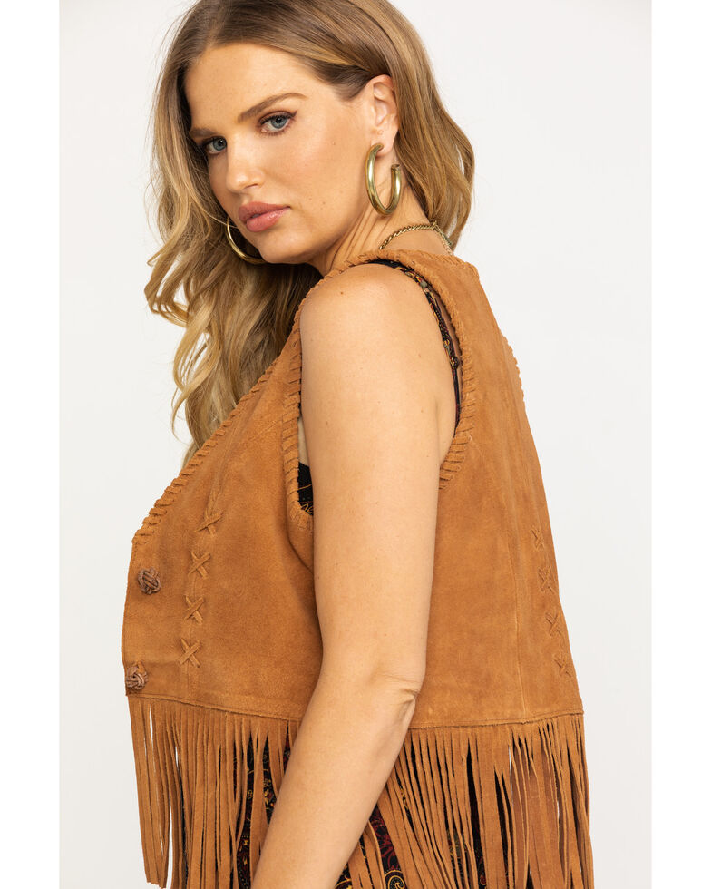 Idyllwind Women's Day Trip Vest, Brown, hi-res
