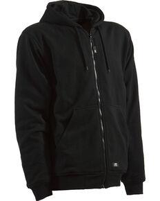 Berne Original Hooded Sweatshirt - Tall Sizes, Black, hi-res
