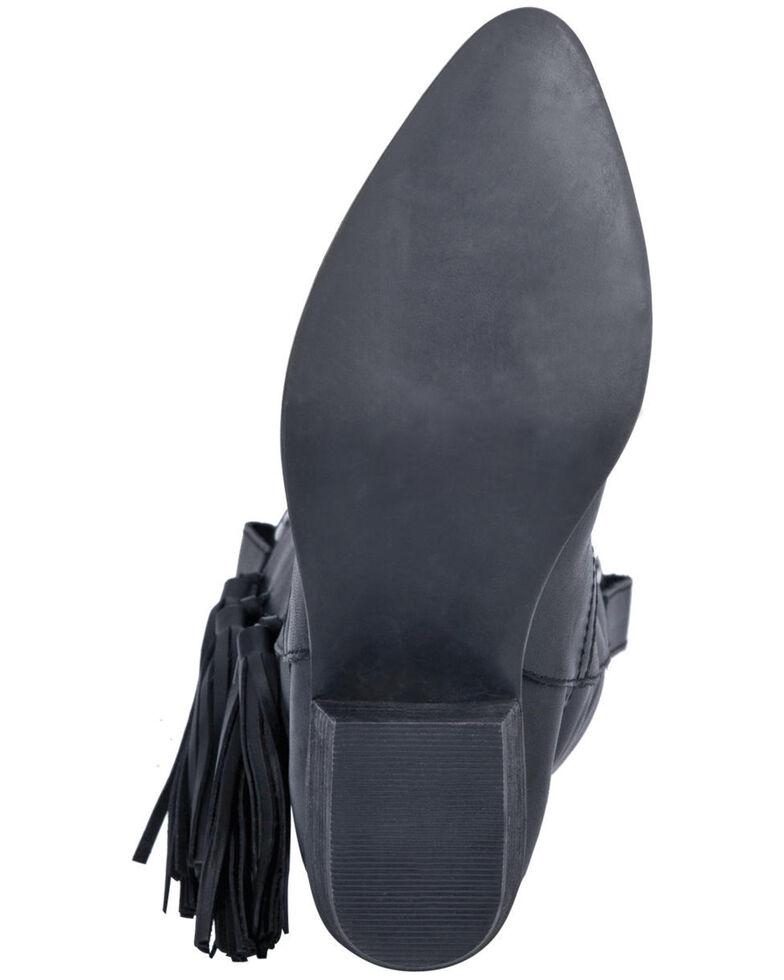 Dingo Women's Thunderbird Western Boots - Round Toe, Black, hi-res