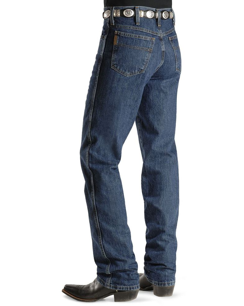 Cinch Men's Bronze Label Tapered Slim Fit Jeans , Dark Stone, hi-res