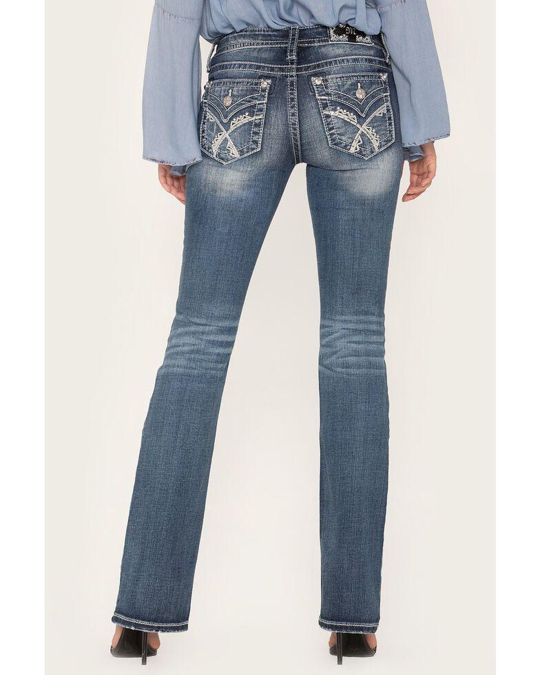 "Miss Me Women's Medium Wash 34"" Bootcut Jeans, Blue, hi-res"