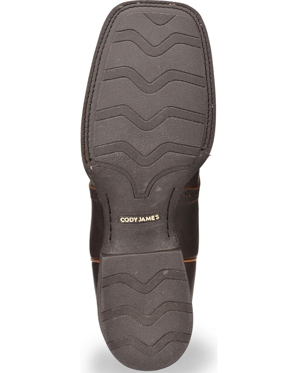 Cody James Xero Gravity Men's Gibson Saddle Vamp Western Boots - Square Toe, Brown, hi-res