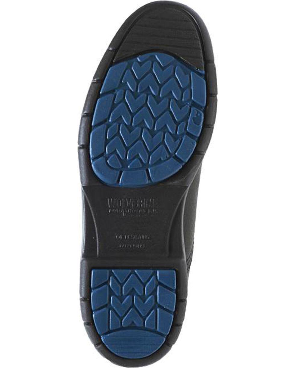 Wolverine Men's DuraShocks® SR Steel Toe EH Work Boots, Black, hi-res