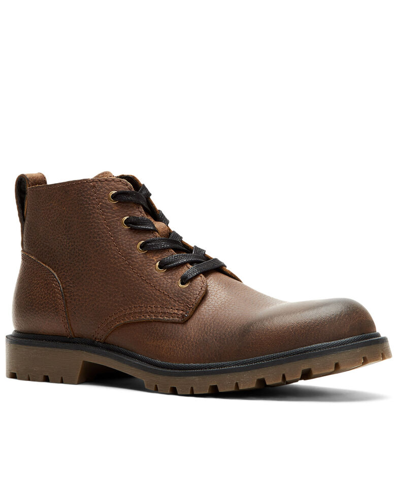 Frye Men's Ranger Chukka Work Boots - Soft Toe, Dark Brown, hi-res