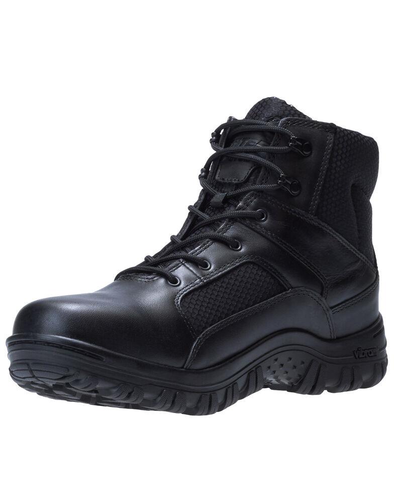 Bates Men's Maneuver Waterproof Work Boots - Soft Toe, Black, hi-res