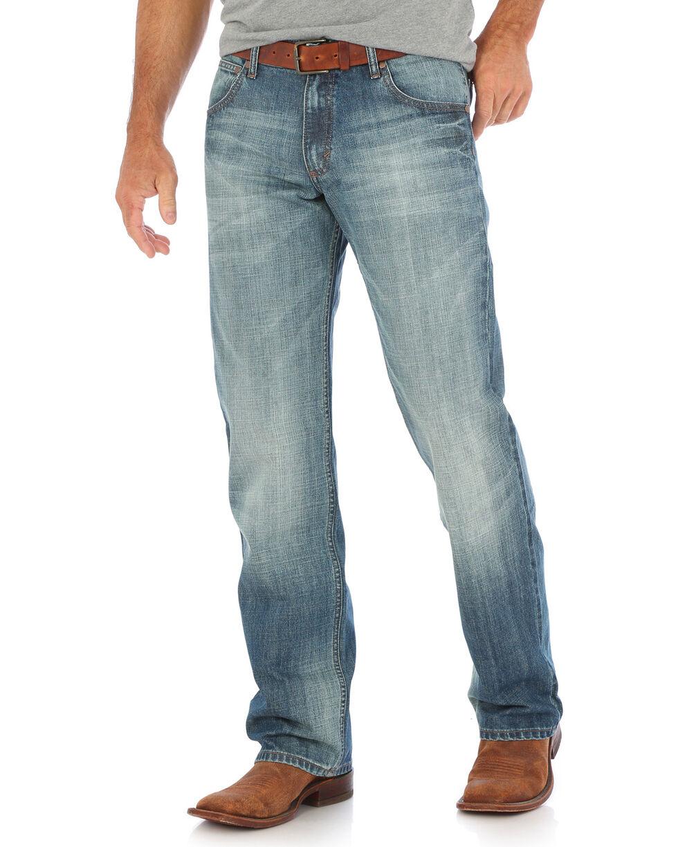 Wrangler Men's Blue Retro Relaxed Fit Jeans - Straight Leg , Indigo, hi-res