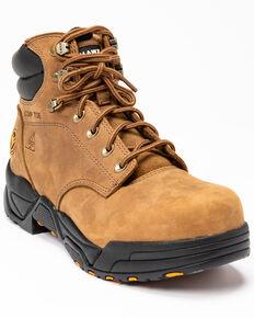 Hawx Men's Enforcer Lace-Up Work Boots - Composite Toe, Brown, hi-res