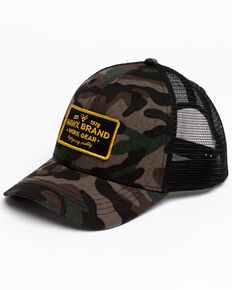 Hawx Men's Camo Patch Ball Cap , Camouflage, hi-res
