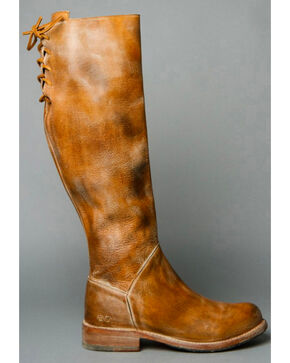 Bed Stu Women's Manchester Tall Boots, Rustic Brn, hi-res