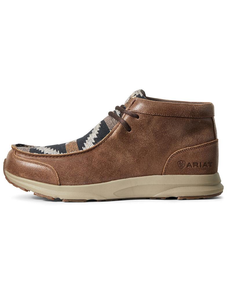 Ariat Men's Spitfire Aztec Print Shoes - Moc Toe, , hi-res