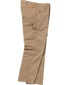 Wrangler Men's Tan Flame Resistant Carpenter Straight Jeans , Tan, hi-res