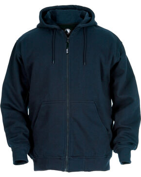 Berne Men's Original Hoodie - 3XL and 4XL, Navy, hi-res