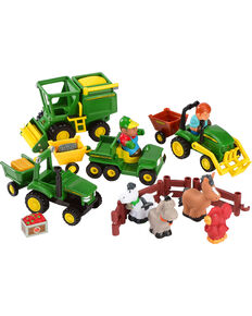 John Deere Fun On The Farm Playset , No Color, hi-res