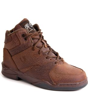 Roper Footwear Women's Horseshoe Athletic Shoes, Brown, hi-res