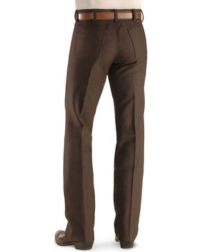 Wrangler Wrancher Dress Jeans - Big, Brown, hi-res
