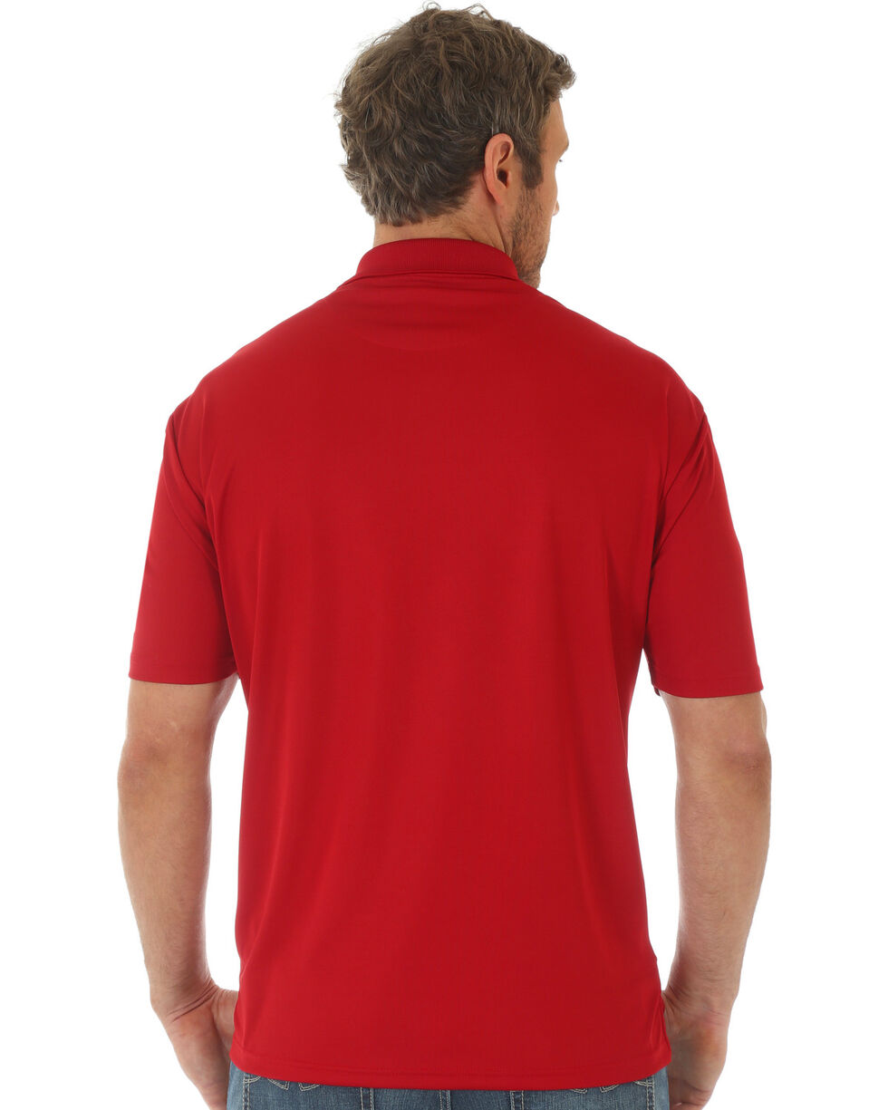 Wrangler 20X Men's Red Advanced Comfort Performance Polo , Red, hi-res
