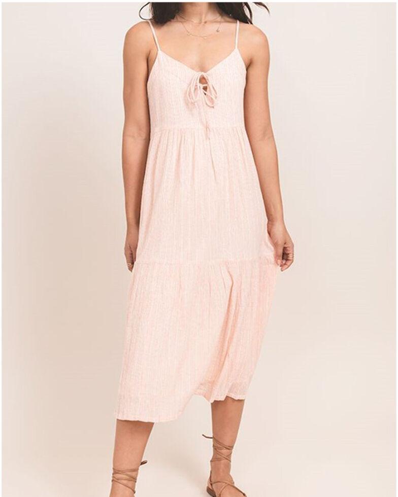 Others Follow Women's Peach Carmel Maxi Dress, Peach, hi-res