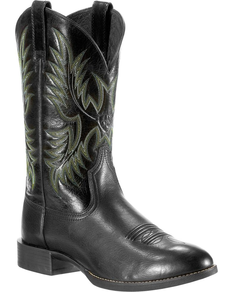 d13f1277e22 Ariat Men's Heritage Stockman Round Toe Western Boots