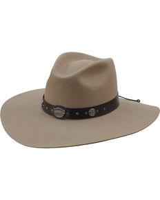 7a4d1a3f771aaf Jack Daniel's Silverbelly Crushable Wool Felt Western Hat