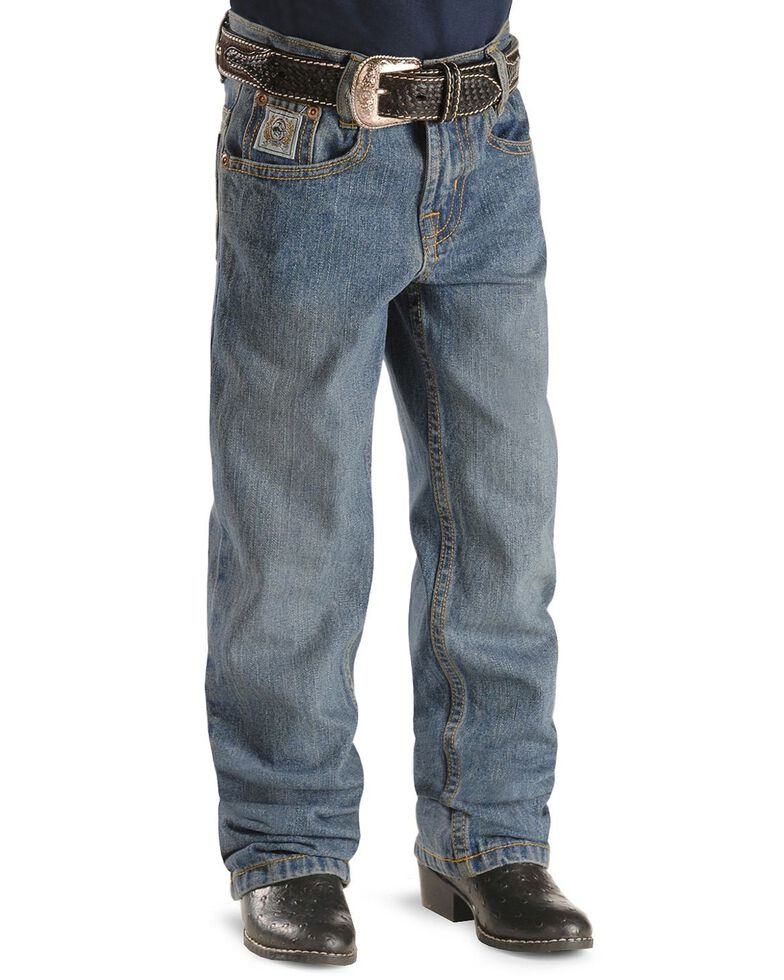Cinch ® Boys' White Label Jeans - 4-7 Regular, Denim, hi-res