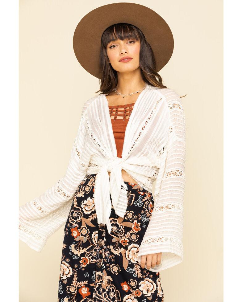 Free People Women's Ivory Willow Kimono, , hi-res