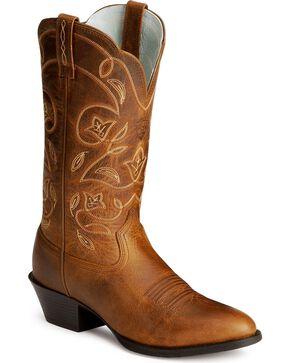 Ariat Women's Heritage Western Boots, Russet, hi-res