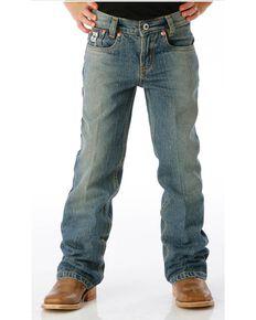Cinch Little Boy's Low Rise Slim Fit Jeans, Denim, hi-res