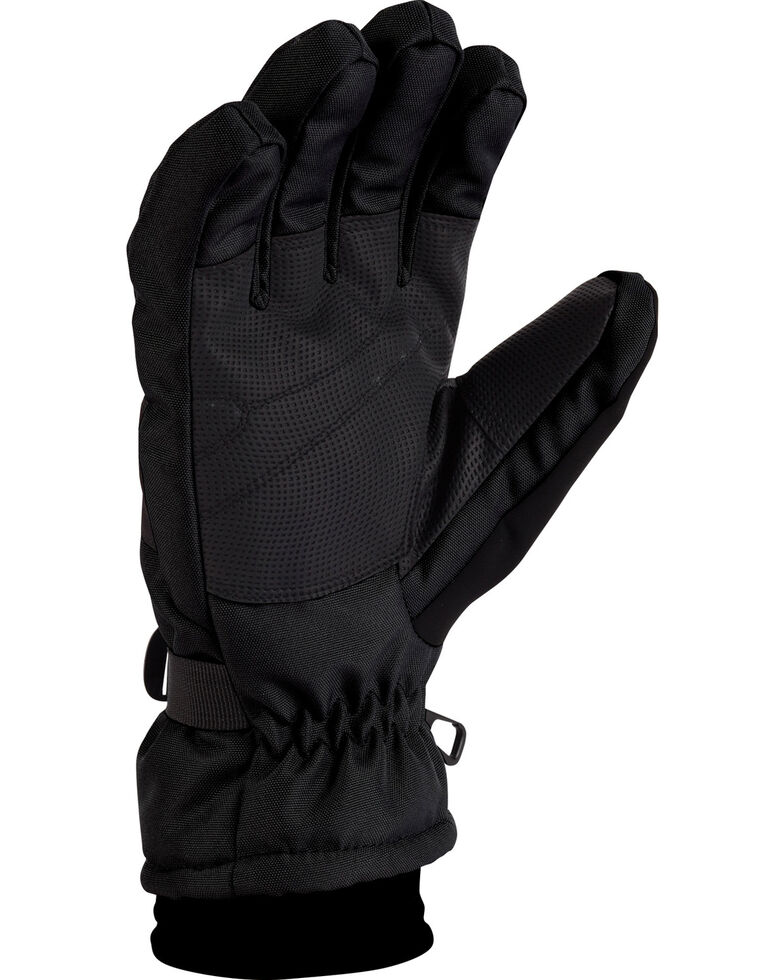 Carhartt Men's Waterproof Dri-Max Gloves, Black, hi-res
