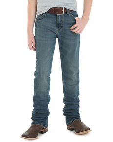 Wrangler 20X Boys' No. 44 Fallon Low Slim Straight Jeans - Big , Blue, hi-res
