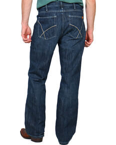 Wrangler 20X Men's Flame Resistant Vintage Boot Cut Jeans, Denim, hi-res