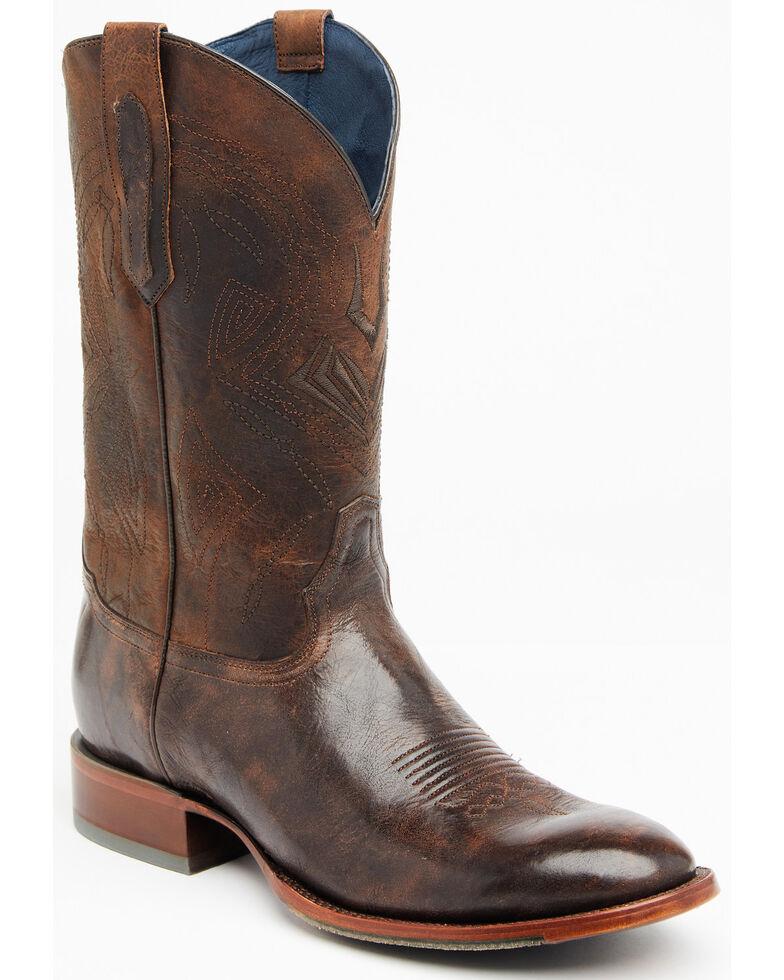 Cody James Men's Chocolate Western Boots - Round Toe, Chocolate, hi-res