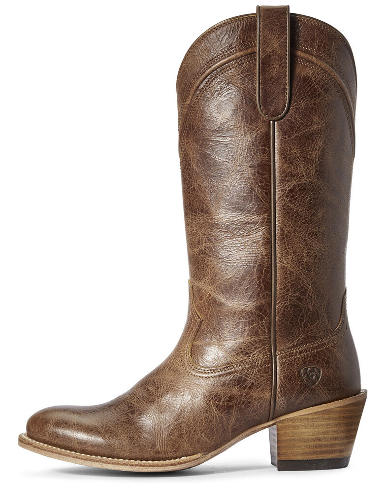Ariat Women's Desert Paisley Western Boots - Round Toe, Brown, hi-res