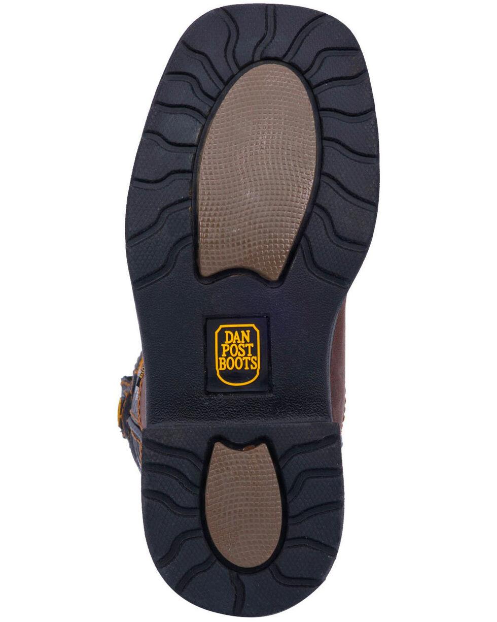 Dan Post Youth Boys' Ridge Runner Western Boots - Wide Square Toe, Brown, hi-res