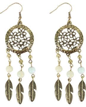 Shyanne Women's Sunset Dream Catcher Earrings, Bronze, hi-res