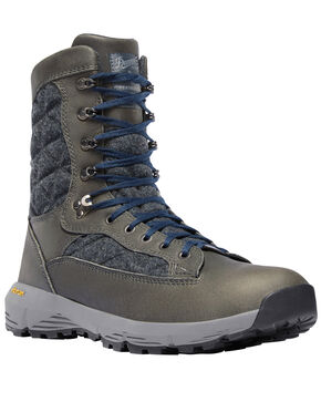 Danner Women's Charcoal Raptor 650 Boots - Round Toe , Dark Grey, hi-res