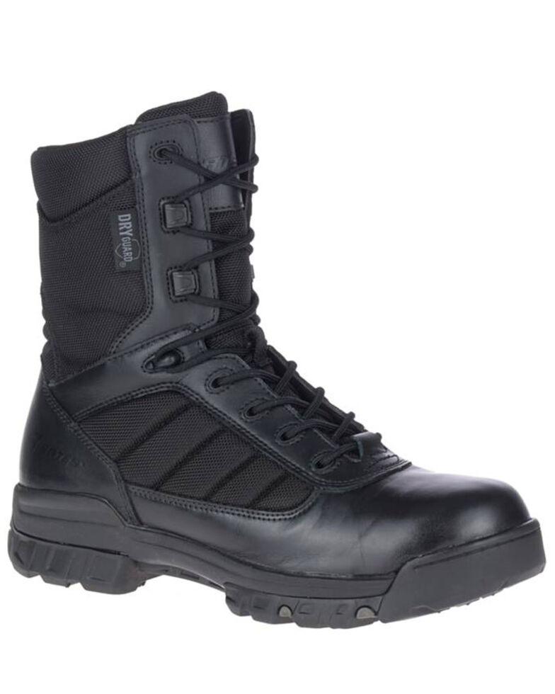 Bates Men's UltraLite Waterproof Work Boots - Soft Toe, Black, hi-res